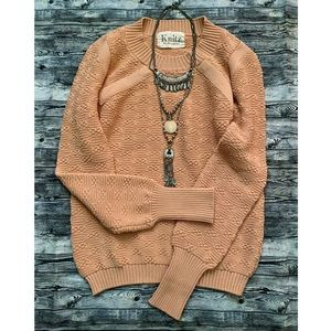 For Love and Lemons - Knitz Chunky Knit Sweater